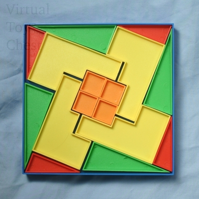 The Disappearing Square puzzle Solution