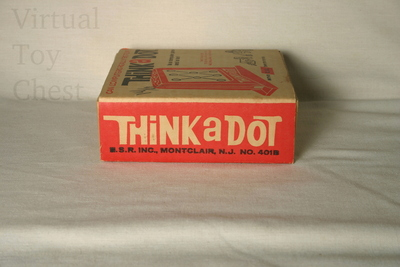 Think a Dot puzzle side of box