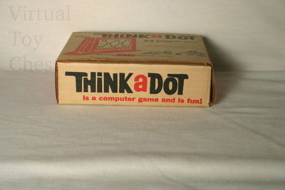 Think a Dot computer bottom of box