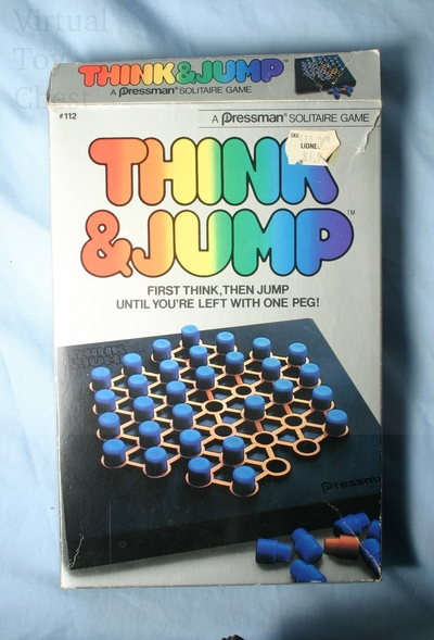 Think and Jump game front of box