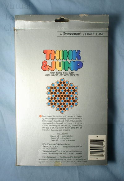 Think and Jump game back of box