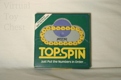 Top Spin puzzle front of box