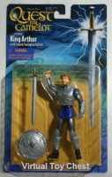 Warner Bros. Quest for Camelot Action Figure King Arthur MOC