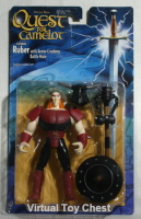 Warner Bros. Quest for Camelot Action Figure Ruber MOC