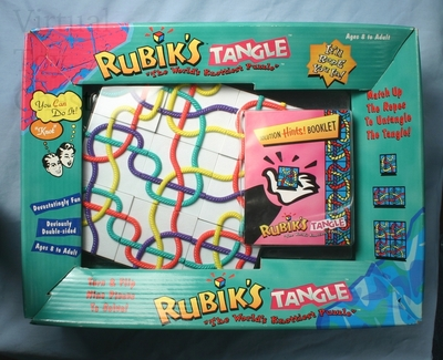 Rubik's Tangle plastic mib