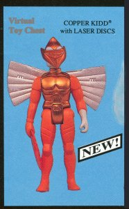 Kenner Silverhawks Copper Kidd with Laser Discs Unproduced
