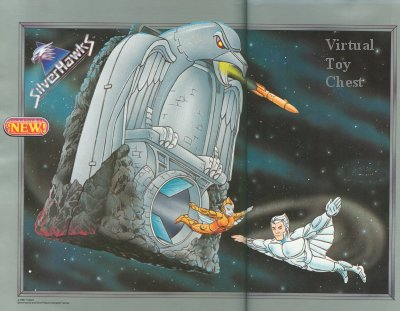 Kenner Silverhawks Hawk Haven Playset Unproduced
