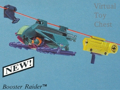 Sky Commanders Unproduced second series Booster Raider