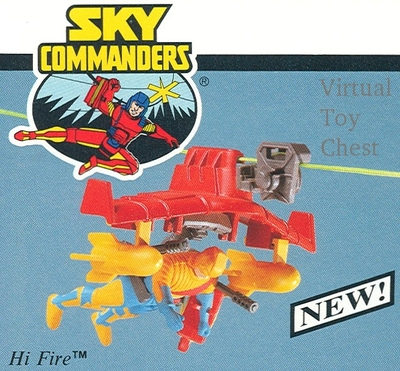Sky Commanders Unreleased second series Hi Fire