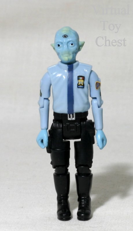Space Precinct Sergeant Freedo