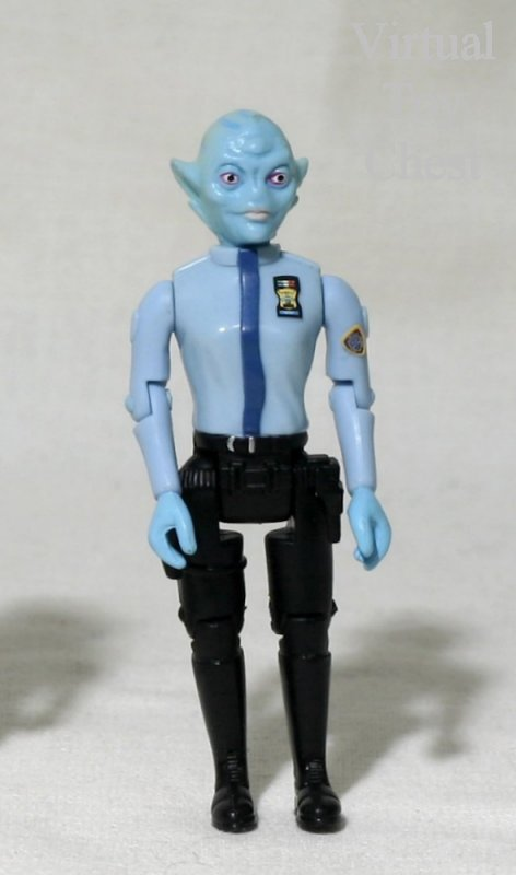 Space Precinct Officer Took