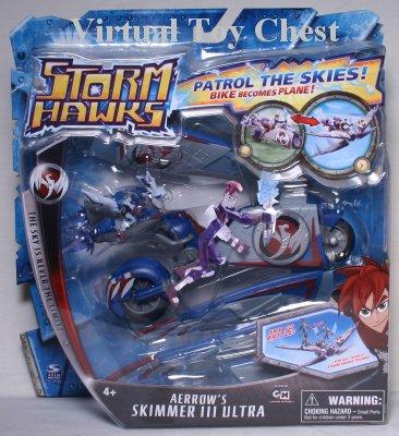 Storm Hawks Spin Master Aerrow's Skimmer III Ultra MOC