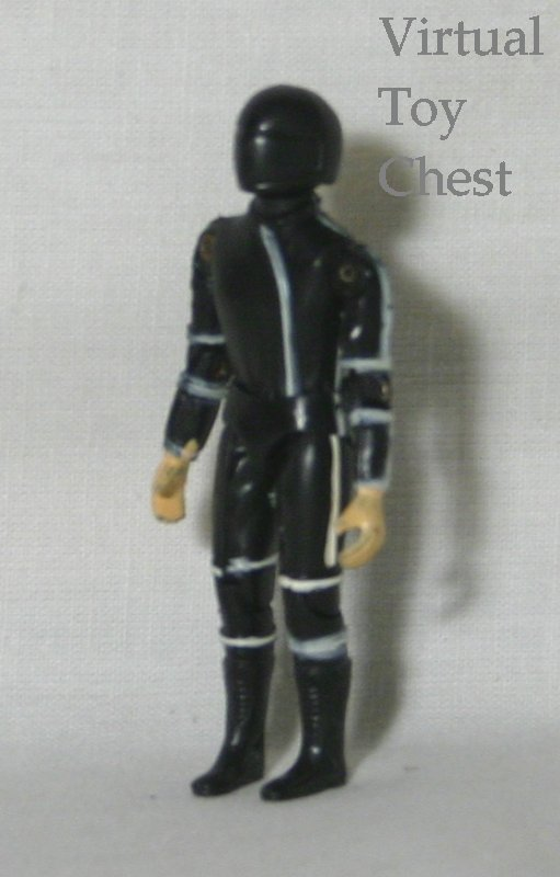Glasslite Street Hawk Jesse action figure 3/4 view