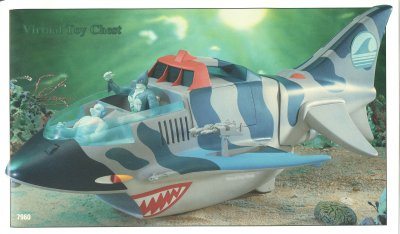 LJN Tigersharks The Sark Unproduced Prototype