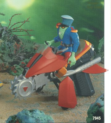 LJN Tigersharks Saw Bill Cycle Unproduced Prototype