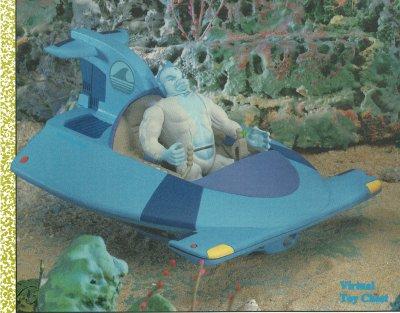 LJN Tigersharks Shark Hammer Unproduced Prototype