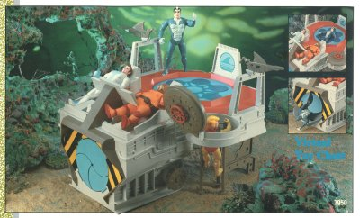 LJN Tigersharks Shark Tank Playset Unproduced Prototype