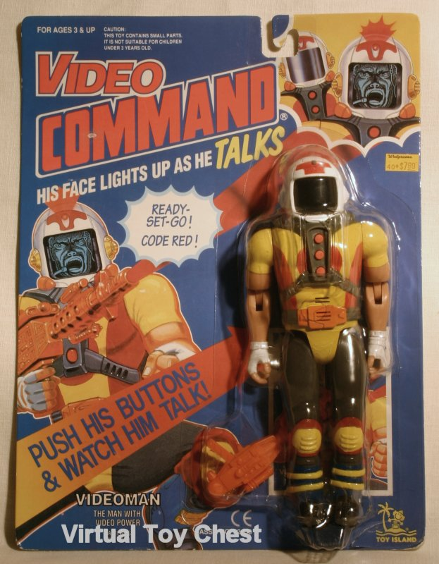 video command toy island action figure