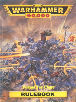 Warhammer 40k 2nd ed rulebook