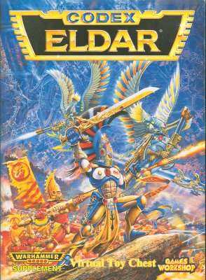 Warhammer 40k 2nd ed codex eldar