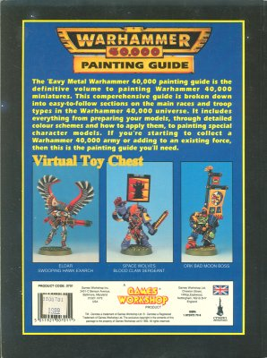 Warhammer 40k 2nd ed 'eavy metal Painting Guide