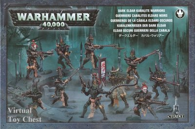 Warhammer 40k Dark Eldar Warriors