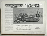 Warhammer 40k Eldar Tempest by Armorcast in box
