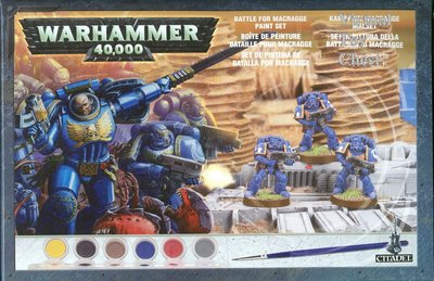 Warhammer 40k Battle for Macragge Paint Set