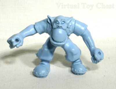 Warhammer 40k unproduced ork boy action figure prototype