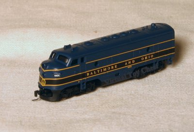 B & O Locomotive by Micro Trains